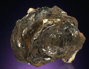 Des cristaux d'ilménite.